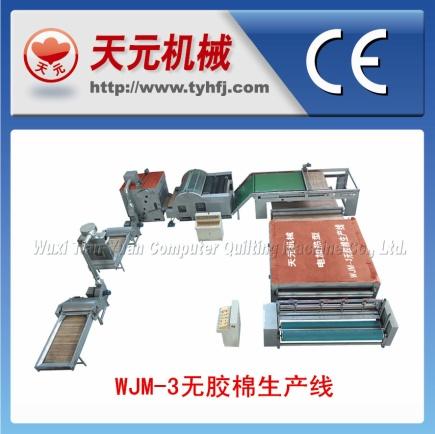 Línea 3-WJ tipo de producción de algodón de plástico (calefacción eléctrica sin circulación de aire caliente)